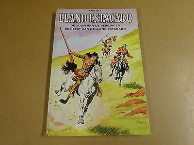 Strip 1° Druk Karl May Gekartonneerd/ Winnetou & Old Shatterhand -Llano Estacado