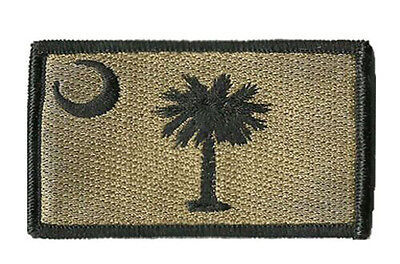South Carolina STATE FLAG USA ARMY MORALE TACTICAL MILITARY BADGE  PATCH