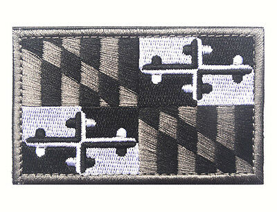 Maryland STATE FLAG USA ARMY MORALE TACTICAL MILITARY BADGE  PATCH
