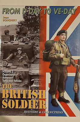 WW2 British Soldier From D-Day To VE-Day Vol.2 Armament Tanks Reference Book