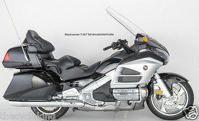 "33"" TALL Clear Vented Windshield/Windscreen-Honda 1800 Gold Wing Goldwing GL1800"