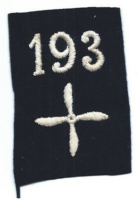 WWI 193rd Aero Squadron Enlisted Patch