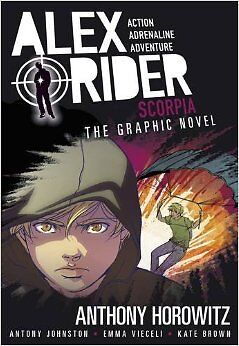 Scorpia: The Graphic Novel NUEVO Brossura Libro  Anthony Horowitz