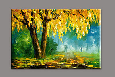 Modern Abstract hand-painted Art Oil Painting Wall Decor on canvas(No Frame)