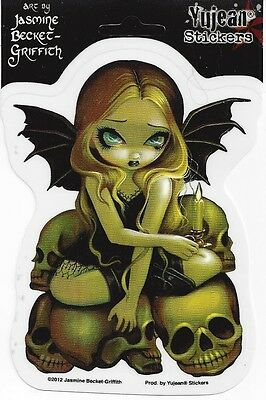 CANDLE IN THE DARK Fairy Sticker Car Decal Jasmine Becket-Griffith Strangeling