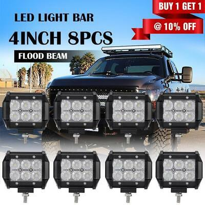 28inch 630W PHILIPS Spot Flood Combo LED Work Light Bar 4WD Offroad Driving Lamp