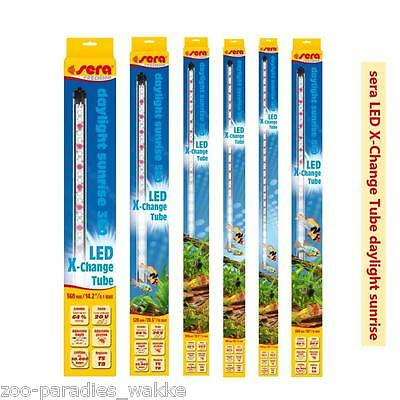 sera LED X-Change Tube daylight sunrise - Aquarien Röhrenersatz  diverse Größen
