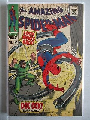 Amazing Spider-Man Vol. 1 (1963-2014) #53 VF+ UK Price Variant