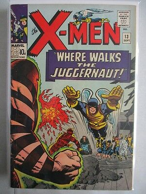 Uncanny X-Men Vol. 1 (1963-2011) #13 FN 2nd Juggernaut UK Price Variant