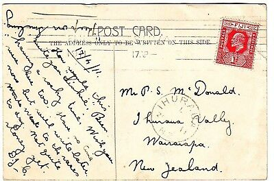 Samoa Beauty Scarce Postally Used Postcard