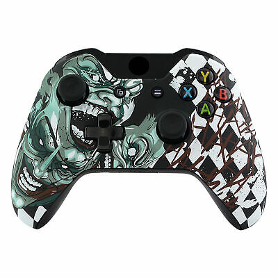 Joker Front Housing Shell Faceplate Case Cover Part for Xbox One Controller