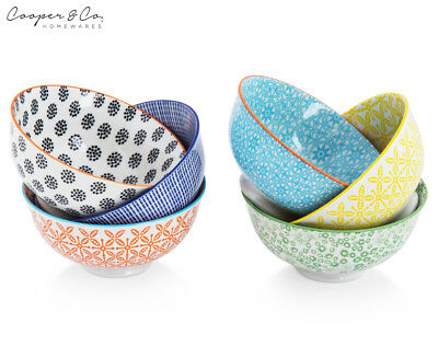 Cooper & Co. 12cm Urban Trend 6-Piece Bowl Set - Multi