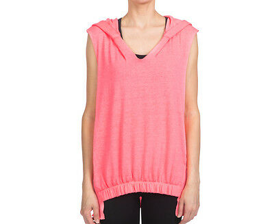 Calvin Klein Performance Women's Banded Front Vest - Day Glow