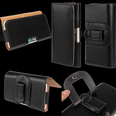 Belt Clip Loop Hip Waist Holder Case Cover PU Leather Pouch Holster For Samsuang