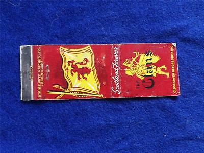 The Clans Coffee Shop Qew Burlingtonscotland Forever Flag Tax Stamp Matchbook