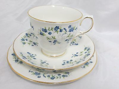 QUEEN ANNE - Sonata - 2X TRIO SETS Cups + Saucers + Bread & Butter Plates - 1199