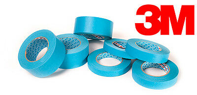 3M Scotch Blaues Band 3434 110°C 50Meter, 19 mm / 25 mm / 30 mm / 38 mm / 50 mm
