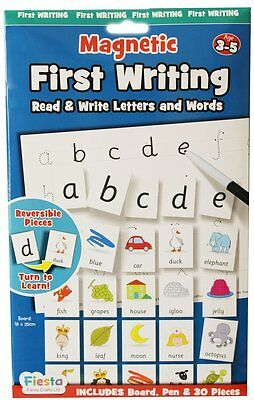 Fiesta Crafts Magnetic First Writing Learn to Read & Write Letters & Words