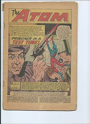 Showcase 36 - Coverless - 3Rd Appearance Of The Silver Age Atom (1962)