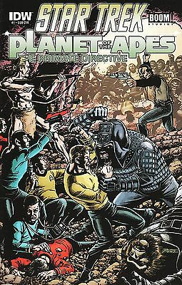 Star Trek / Planet of the Apes: The Primate Directive No.1 2014
