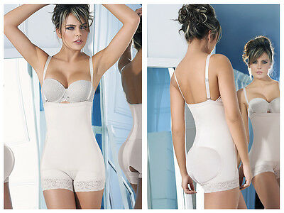 Ann Chery 4013 Latex Shirly Strapless Shapewear Color Beige, last units in stock