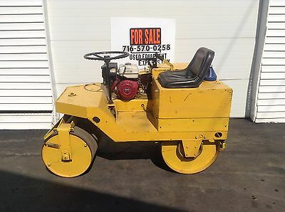 Stow Econo-Roll Static Ride On Roller Asphalt Compactor Honda Engine Hydrostatic