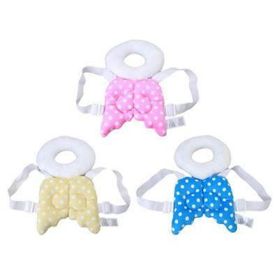 Baby Toddler Walking Anti-Drop Head Back Protection Pad Cushion with Harness B