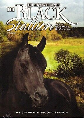 NEW DVD BOX SET - THE ADVENTURES OF THE BLACK STALLION - SEASON 2 TWO Second 2nd