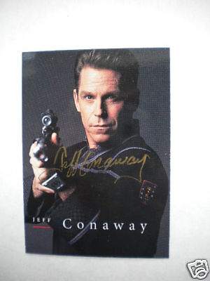 Babylon 5 rare Jeff Conway signed insert card 1990s