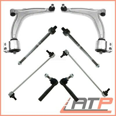 8-Part Suspension Control Arm Wishbone Kit Front Opel Vauxhall Vectra C Mk 2
