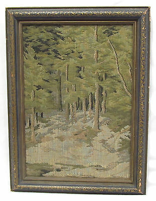 La France Art Company Jacquard Textile Picture Tapestry Arts & Crafts Trees