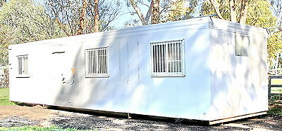 Alco 12m x 3m Transportable Office Building 40' 3-Room Cyclone-D Rated - PERTH