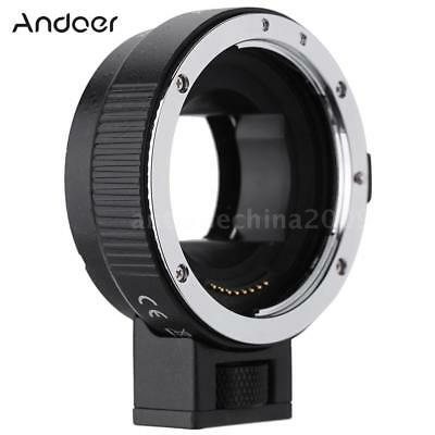 Andoer Auto Focus AF TTL Lens Adapter Ring for Canon EF EF-S to SONY NEX E Mount