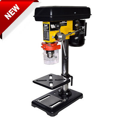 Wolf Rotary Pillar Drill Press Bench Top Mounted Drilling Nine 9 Speed 16mm