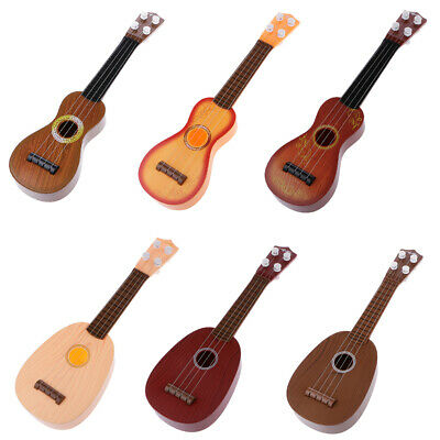 Kids Childs Baby Musical Instrument Mini Guitar Toy For Preschool Practice Gifts
