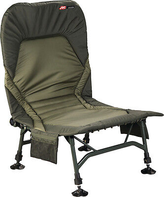 JRC NEW Cocoon Recliner Carp Fishing Padded Chair - 1294355