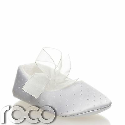Baby Girls Shoes, White Shoes, Baby Shoes, Christening Shoes