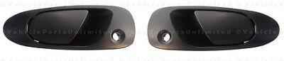 Front Left + Right Outside Exterior Outer Door Handle Fits: HONDA Civic Del Sol
