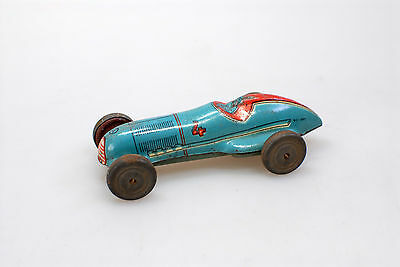 Penny Toy Rennwagen (Blau)  - Made In Italy – 1930 Er Jahre -*****