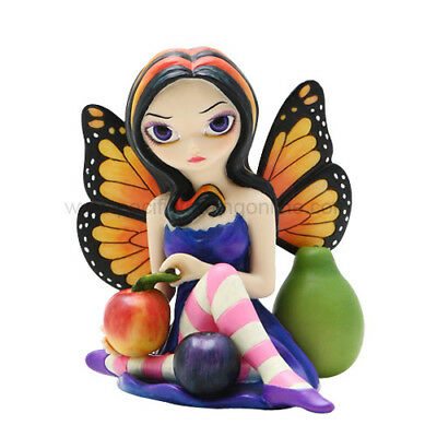 PEACH PLUM PEAR Fairy Figurine Faery Figure Jasmine Becket-Griffith Strangeling