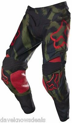 FOX adult men's 360 MARZ LE motocross pants CAMO sz 28