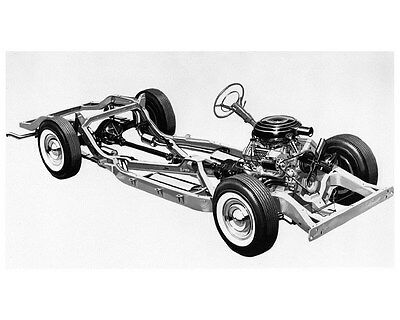 1957 Oldsmobile Chassis Factory Photo ca5350