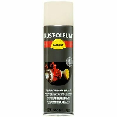 x1 Ultra-High Coverage Rust-Oleum Cream Spray Paint Hard Hat RAL 9001