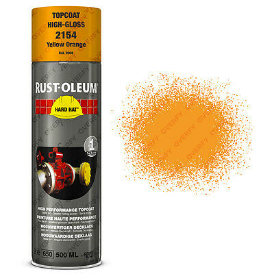 x1 Ultra-High Coverage Rust-Oleum Yellow Orange Spray Paint Hard Hat RAL 2000
