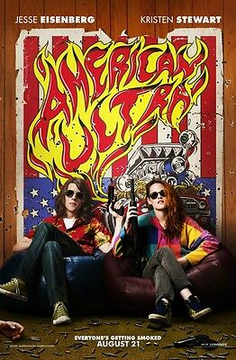 American Ultra - original DS movie poster - 27x40 D/S Advance C