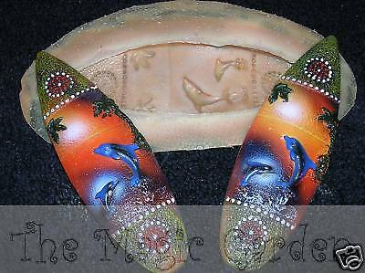 Dolphin surfboard plaster resin cement craft latex  molds moulds