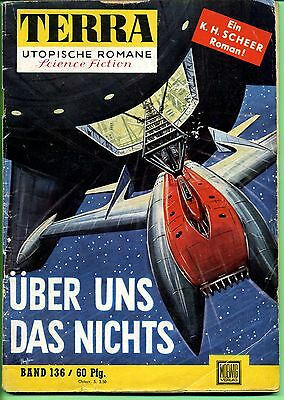 Terra--Utopische Romane -- Science Fiction -- Band 136 -- Romanheft --