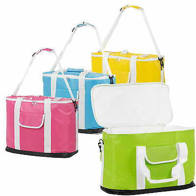 30L Extra Large Foldable Insulated Picnic Beach Freezer Cooler Bag Food Drinks