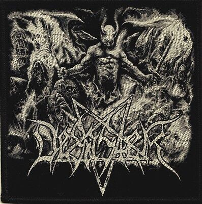 DESASTER - Logo In Hell  [Woven Patch]