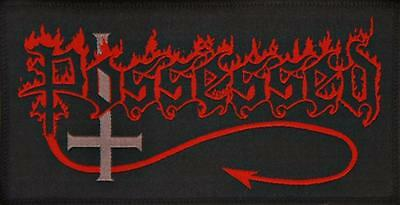 POSSESSED - Logo - Aufnäher / Woven Patch